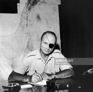 Israeli Military leader, Moshe Dayan