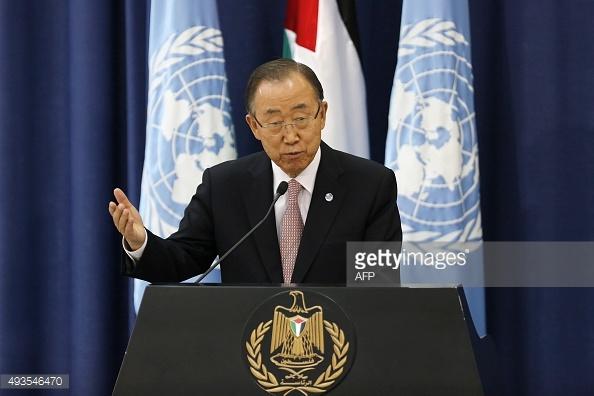 UN Secretary Ban Ki-Moon