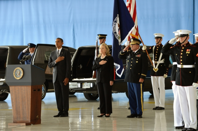 Benghazi Victims Arrive at US