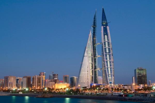 Cityscape, Manama, Kingdom of Bahrain, February, 8, 2010 (Photo by George Dipin/itp images)