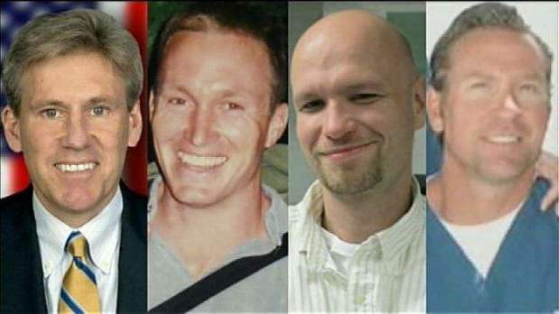 Benghazi murdered: Ambassador Chris Stevens, Diplomate assistant, Sean Smith, Navy Seals, Glenn Doherty and Tyrone Woods