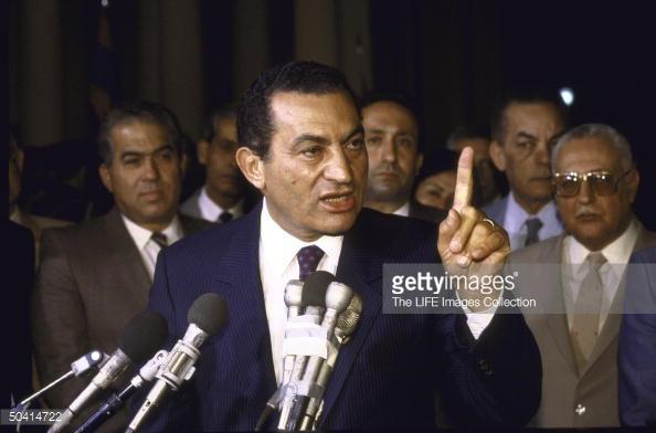 Egyptian Pres. Hosni Mubarak