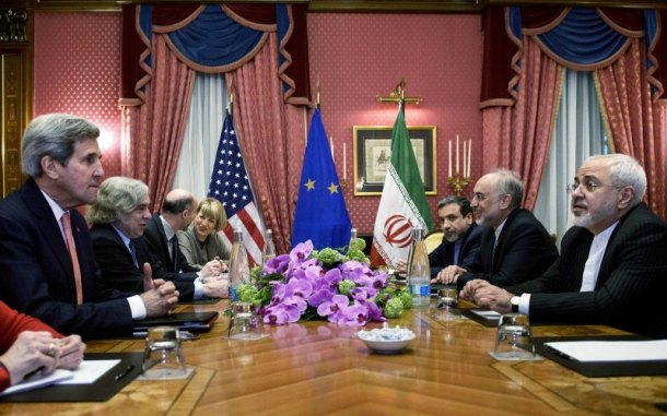 PLAYERS AT TABLE FOR IRAN NUCLEAR DEAL