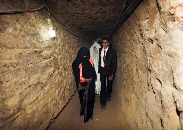 Israel bride smuggled through one of many Gaza tunnels