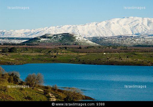 Golan Height's water resevoir