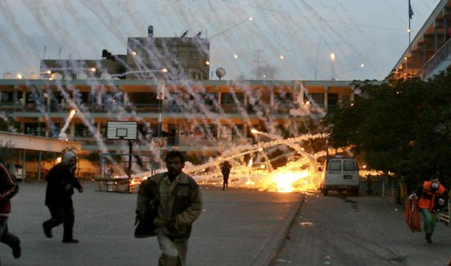 Israeli rocket shelters