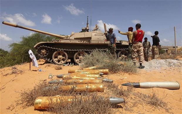 Libya tank