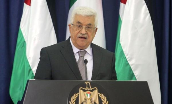 Palestinian Prime Minister Mahmoud Abbas