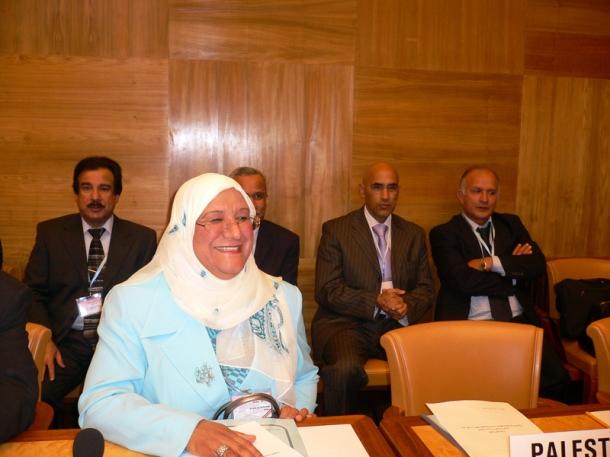 Dr. Massouma al-Mubarak, 1st woman elected official
