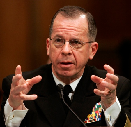 Former Joint Chiefs Chairman Adm. Michael Mullen . (AP Photos/Susan Walsh)