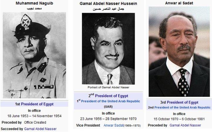 nasser LEADERS OF EGYPT