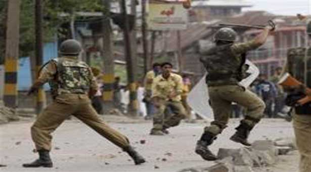 Anti Indian slogans found in occupied Kashmir