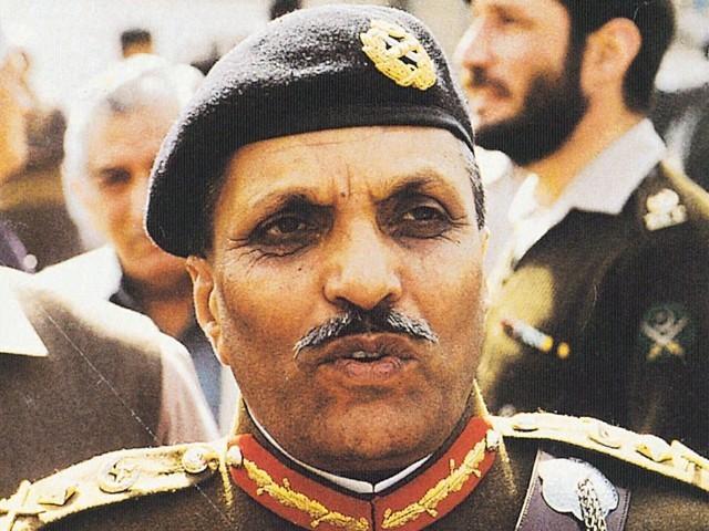 Pakistani General Mohammad Ziaul Haq (Zia)