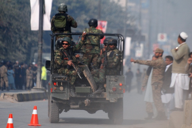 Taliban attack Peshawar School in Pakistan