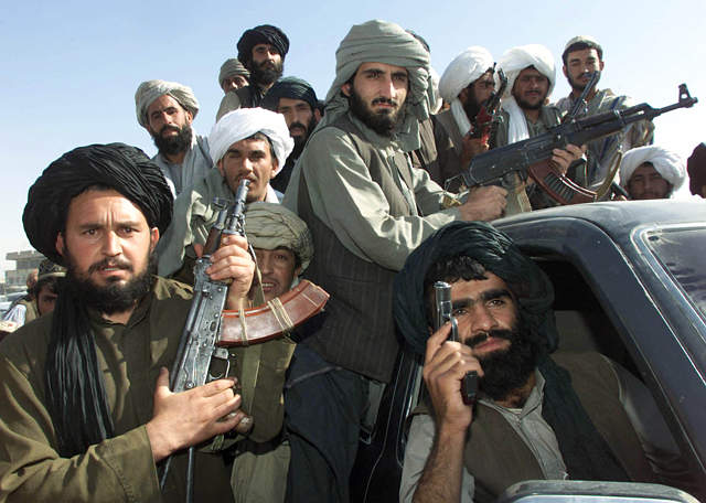 Taliban foghters
