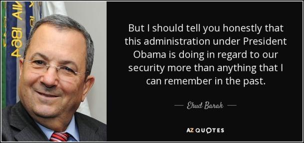 Egyptian PM Ehud Barak