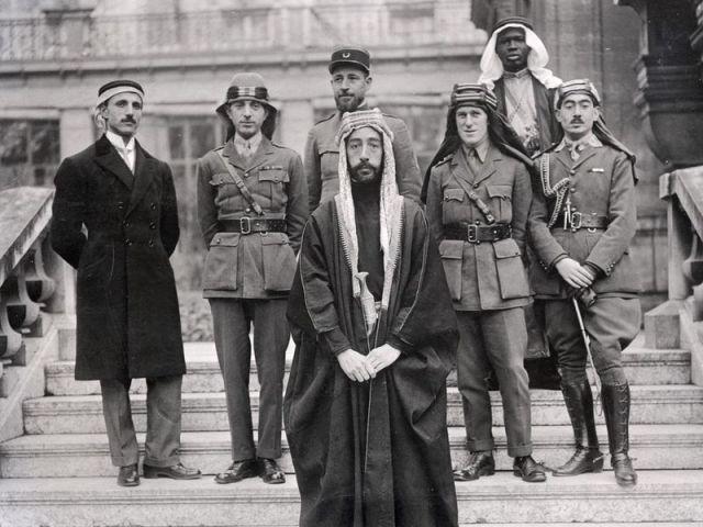 Saudi Arabia King Faisal (Feisal) Versailles