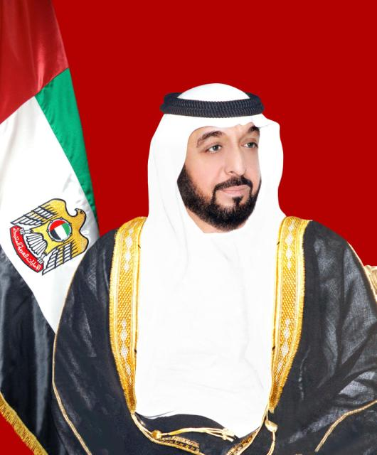 Sheikh Khalefa (Khalifa), President of the UAE Federal Council and Abu Dhabi's ruler,