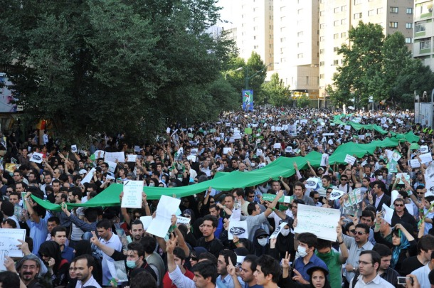 Tehran Protests