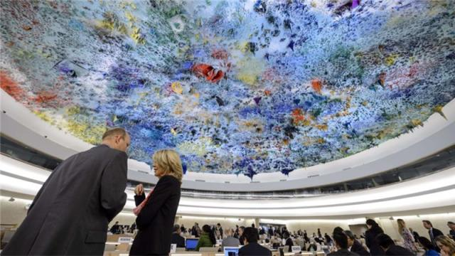 AT UN FORUM ON HUMAN RIGHTS, US AND ISRAEL WERE ABSENT