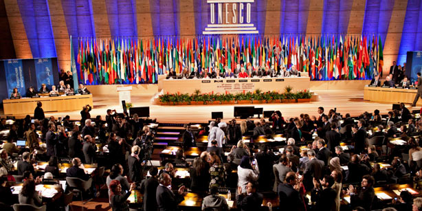 Palestine becomes a member of UNESCO