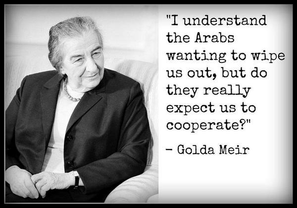 ISRAELI PRIME MINISTER GOLDA MEIR