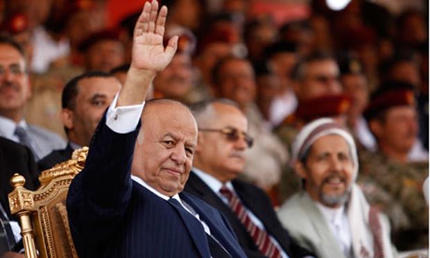 Yemen's President Abd-Rabbu Mansour Hadi
