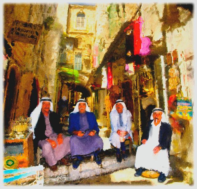 Arab merchants