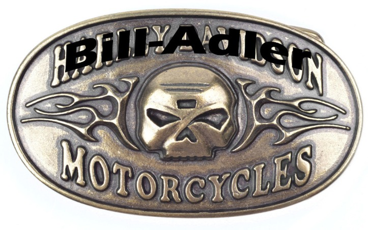 Solid alloy big belt buckle