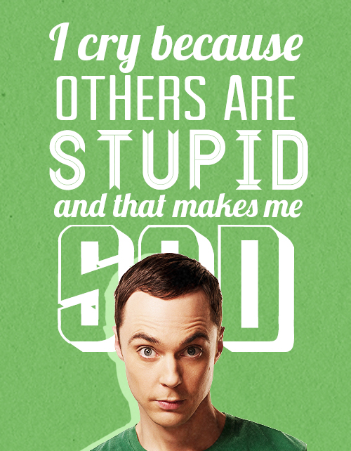 "Character: Sheldon Cooper of the ""Big Bang Theory"""