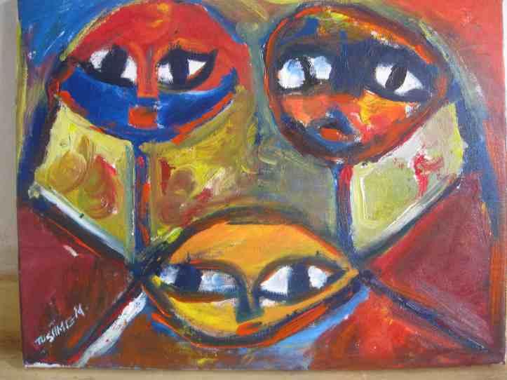 CONFLICT ART tusiime-children