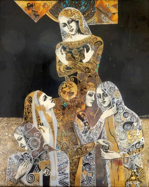 conflict art women 1013944_273543942783306_574745973_n