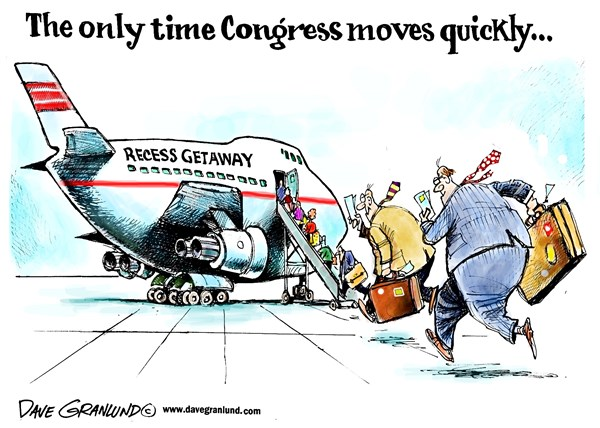 congress cartoon..only time congress moves fast135488_600