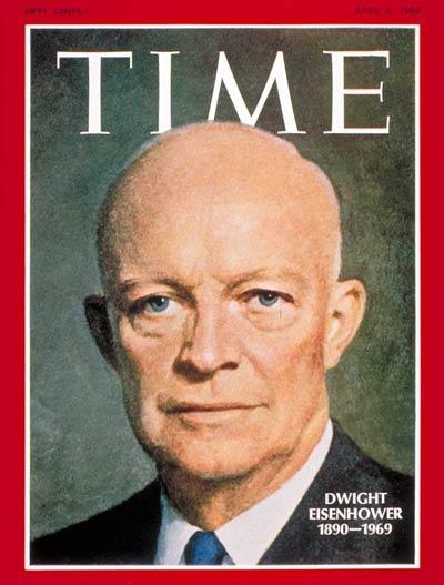 Former President Dwight Eisenhower