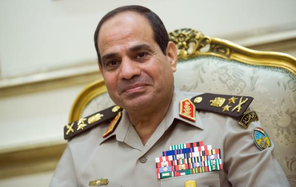 President. Abdel Fattah el-Sisi.