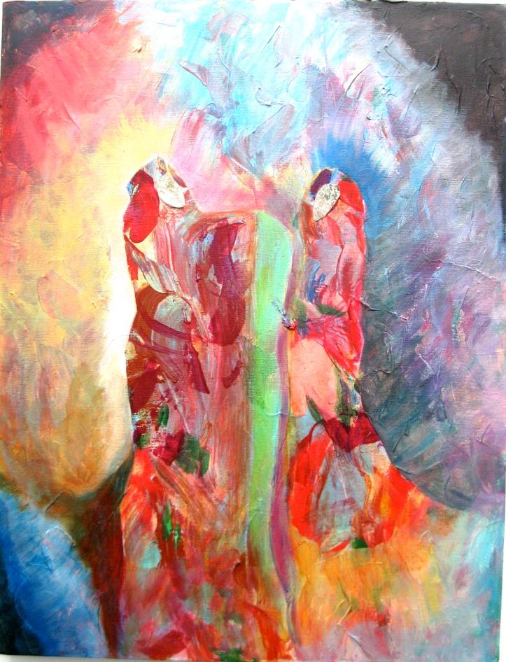 isis dancing-arab-women