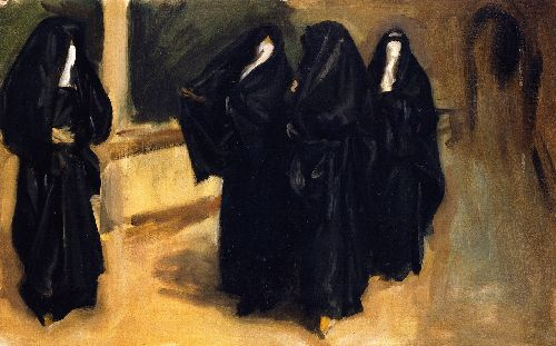 isis John-Singer-Sargent-xx-Four-Arab-Women-xx-Private-collection