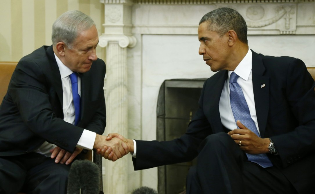 PM Benjamin Netanyahu and President Barack Obama