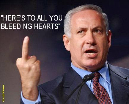 ISRAEL NETANYAHU - BLEEDING HEARTS