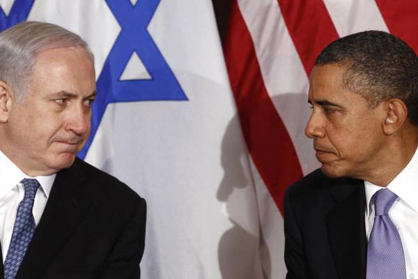Israeli President Benjamin Netanyahu and US President Barack Obama