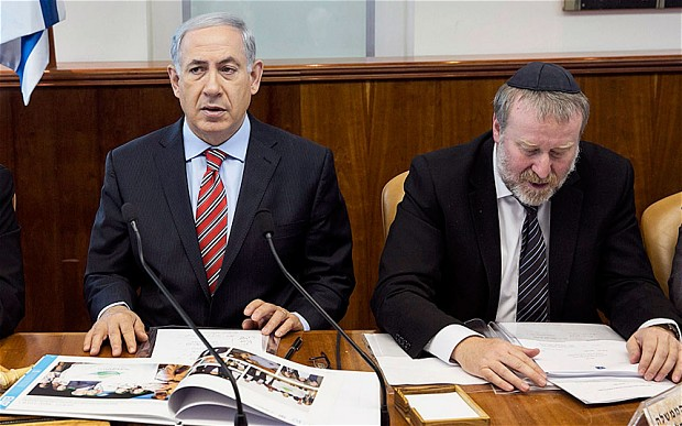 Israel Benjamin Netanyahu at UN