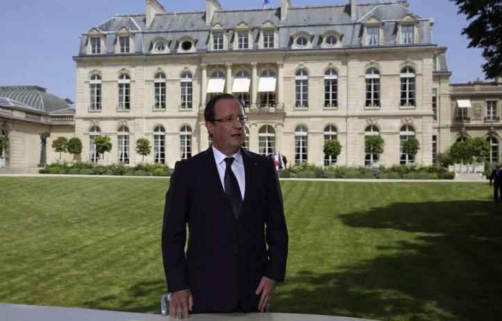 President Francois Hollande