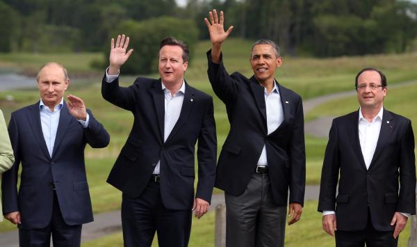 PRESIDENTS BEST BEST PUTIN..CAMERON OBAMA HOLLANDEFuture_of_West