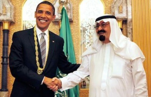 US President Obama and Saudi Prince Bandar