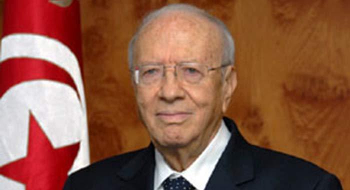 President Béji Caid Essebsi