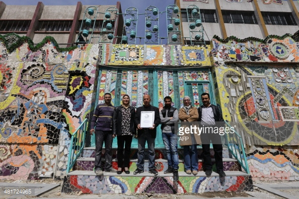 CONFLICT ART Syrian Moaffak Makhoul and a team of six artists 481724965