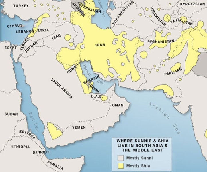 MAPS OF IRAQ AND SYRIA SHOWING LOCATION OF THE KURDS SUNNIS AND – Map of Iraqi Oil Fields