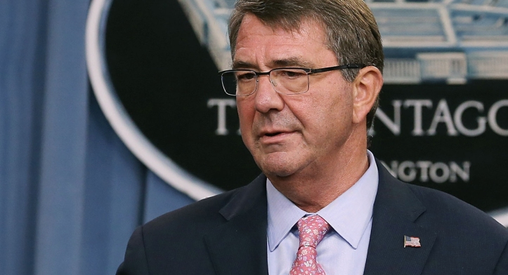 US Secretary of Defense Ashton Carter (Photo by Mark Wilson/Getty Images)