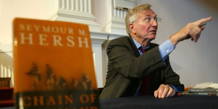 Author Seymour Hersh (Photo by Alex Wong/Getty Images)