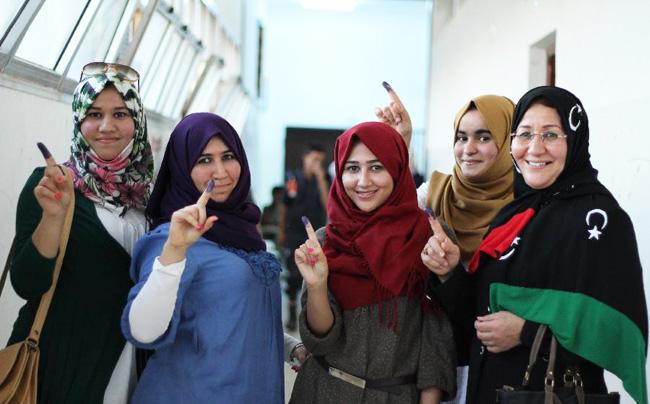 libya-women-voteLibyan women staked 17% representation in new Transitional Authority